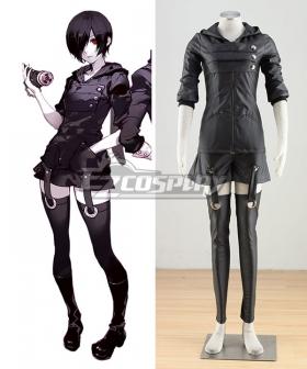 Tokyo Ghoul Tokyo Guru Kirishima Toka Battle Suit Cosplay Costume