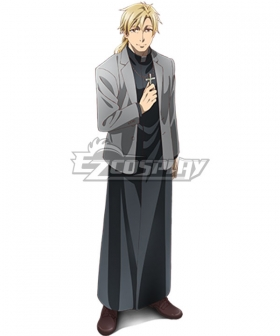 The Ancient Magus' Bride Mahoutsukai no Yome Simon Kalm Cosplay Costume