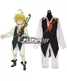 The Seven Deadly Sins / Nanatsu no Taizai Meliodas Dragon's Sin of Wrath Cosplay Costume