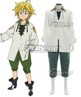 The Seven Deadly Sins: Revival of The Commandments Nanatsu no Taizai Season 2 Dragon's Sin Dragon's Sin of Wrath Meliodas Cosplay Costume