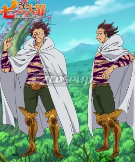 The Seven Deadly Sins: Revival of The Commandments Nanatsu no Taizai Season 2 Monspeet Cosplay Costume