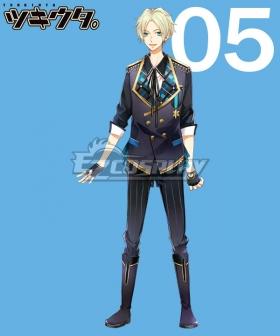 Tsukiuta. Aoi Satsuki Six Gravity May Cosplay Costume