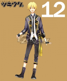 Tsukiuta. Kakeru Shiwasu Six Gravity December Cosplay Costume