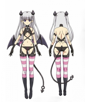 The Testament of Sister New Devil Shinmai Maou no Testament Burst Naruse Maria Cosplay Costume