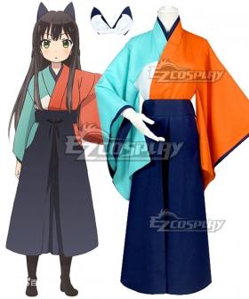 Urara Meirochou Tatsumi Kon Cosplay Costume