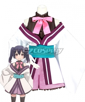 Urara Meirochou Yukimi Koume Cosplay Costume