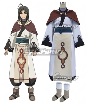 Utawarerumono The False Mask Itsuwari no Kamen Haku Cosplay Costume