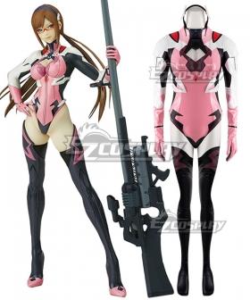 EVA Neon Genesis Evangelion Mari Makinami Flare  Cosplay Costume