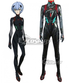EVA Neon Genesis Evangelion Rei Ayanami Cosplay Costume - Not Included Shoes