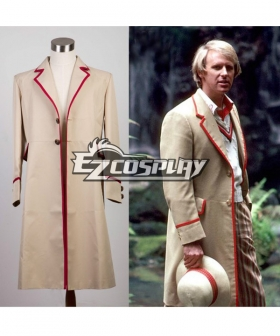 Who is doctor fifth 5th Dr Coat Cosplay Costume