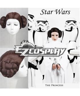 Star Wars Princess Leia Organa Solo Cosplay Wig