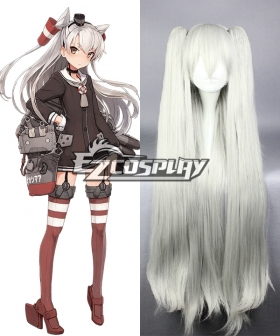 Kantai Collection Destroyer Amatsukaze Cosplay Wig
