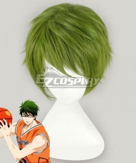 Kuroko's Basketball SHUTOKU 6 Midorima Shintaro Green Cosplay Wig