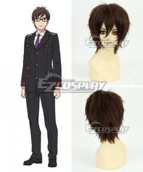 Noragami Aragoto Kazuma Brown Cosplay Wig