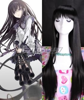 Puella Magi Madoka Magica Akemi Homura Black Cosplay Wig