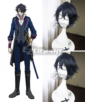 K Return Of Kings Fushimi Saruhiko Purple Cosplay Wig - Only Wig