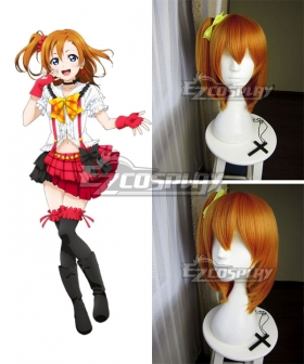 Love Live Lovelive Honoka Kousaka Orange Cosplay Wig
