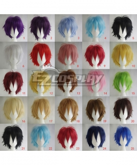 General Cosplay Short 30cm Wigs Bangs