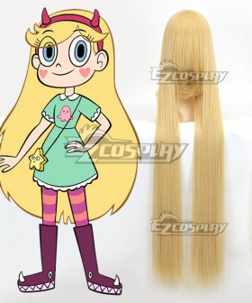Star vs.the Forces of Evil Princess Star Butterfly Cosplay Wig