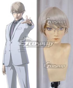 Ajin Demi Human Yu Tosaki Silver Cosplay Wig