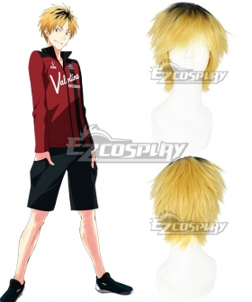 Prince of Stride Alternative Saisei School Asuma Mayuzumi Yellow Cosplay Wig