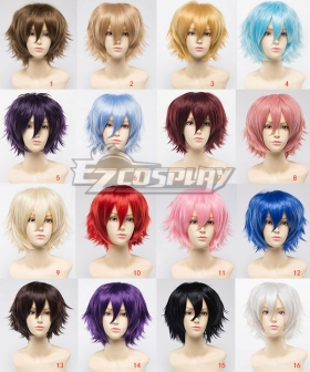 General Cosplay Multicolor Harajuku Short Wigs Lolita 30cm