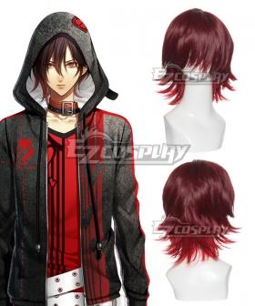 Amnesia Shin Red Cosplay Wig