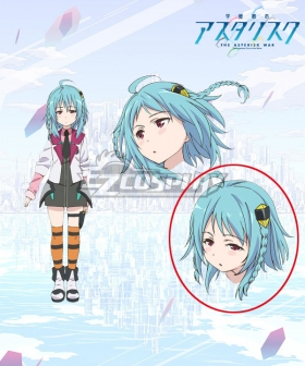 Gakusen Toshi Asterisk Academy Battle City Asterisk The Asterisk War The Academy City of the Water Saya Sasamiya Blue Cosplay Wig