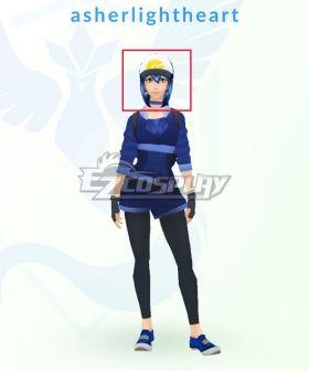 Pokémon GO Pokemon Pocket Monster Trainer Female Blue Cosplay Wig
