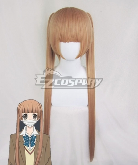Anonymous Noise Fukumenkei Noise Nino Arisugawa Light Brown Cosplay Wig