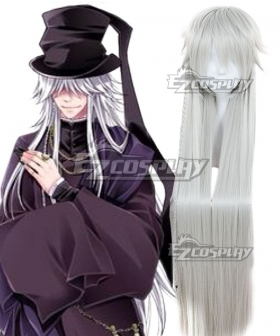 Black Butler Undertaker Gray White Cosplay Wig
