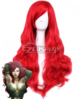 DC Batman Poison Ivy Red Cosplay Wig