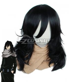 My Hero Academia Boku no Hero Akademia Shota Aizawa Black Cosplay Wig