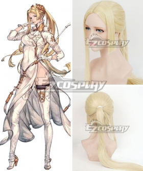 NieR: Automata YoRHa Infantry Squad Commander Light Golden Cosplay Wig