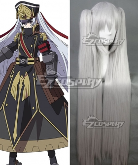 Re: Creators Military Uniform Princess Silver Cosplay Wig