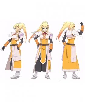 Kono Subarashii Sekai ni Shukufuku o Darkness Cosplay Wig