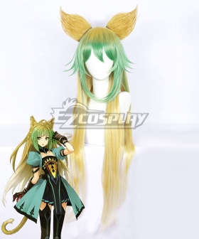 Fate Apocrypha Archer of Red Atalanta Chaste Huntress Multicolor Cosplay Wig