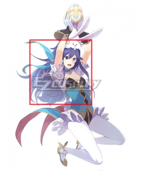 Fire Emblem Heroes Spring Festival Lucina Purple Cosplay Wig
