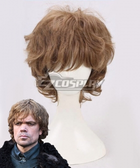Game of Thrones Tyrion Lannister Brown Cosplay Wig