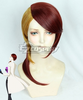 Land of the Lustrous Houseki no Kuni Rutile Golden Red Cosplay Wig - New Edition
