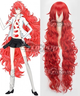Land of the Lustrous Houseki no Kuni Padparadscha Red Cosplay Wig