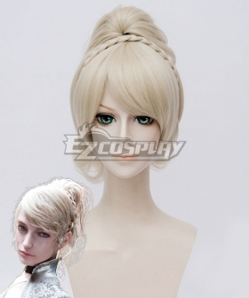 Final Fantasy XV FFXV Lunafreya Nox Fleuret Light Golden Cosplay Wig