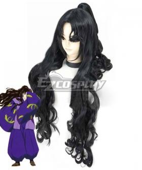 Inuyasha Naraku Black Cosplay Wig