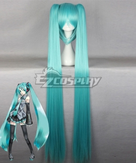 Vocaloid Hatsune Miku Water Blue Cosplay Wig
