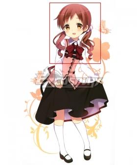 Gochuumon wa Usagi Desu ka? Is the Order a Rabbit? Megumi Natsu Red Cosplay Wig
