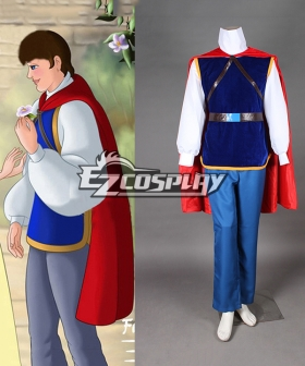 Grimm's Fairy Tales Snow White Prince Charming Cosplay Costume