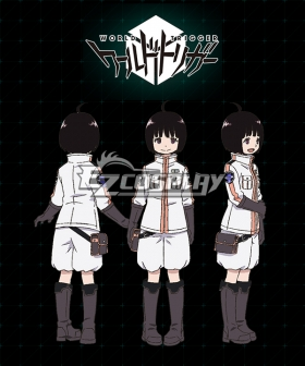 World Trigger BORDER Chika Amatori Cosplay Costume