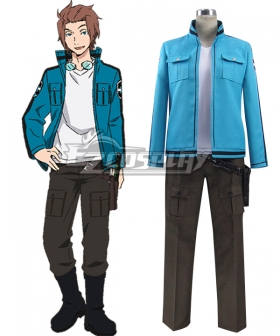 World Trigger Yuichi Jin Uniform Cosplay Costume