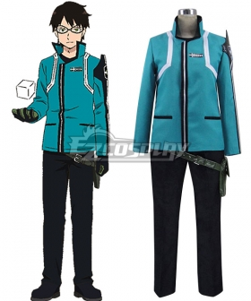 World Trigger Border Osamu Mikumo Uniform Cosplay Costume New Version