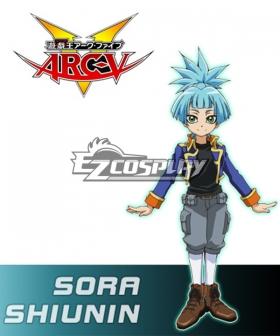 Yu-Gi-Oh! Yugioh ARC-V Sora Shiunin Cosplay Costume